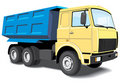 Dump truck Royalty Free Stock Photos