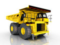 Dump truck computer generated d illustration with a Royalty Free Stock Images