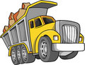Dump Truck Illustration Royalty Free Stock Photo