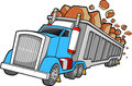 Dump Truck Illustration Stock Image