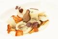 Dumpling with mushrooms Stock Photography