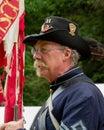 Civil war re-enactement in Duncans Mills, CA, USA