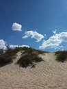 Dune and blue sky summer shot Royalty Free Stock Photos