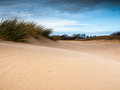 Dune landscape Royalty Free Stock Photo
