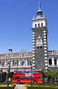 Dunedin Railway Station Royalty Free Stock Photo