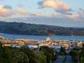 Dunedin during sunset Royalty Free Stock Photography