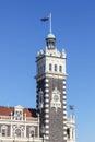 Dunedin Train Station Clocktower Royalty Free Stock Photo