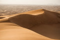 Dunes in desert Royalty Free Stock Photo