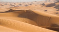 Dunes in desert Royalty Free Stock Photo