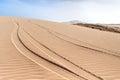 Dunes of Morro d´Areia, Boavista, Kapverden Royalty Free Stock Photo