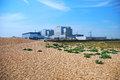 Dungeness nuclear power station may refer to either one of a pair of stations only one of which is still operational Royalty Free Stock Images