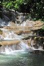 Dunn's River Falls in Ocho Rios Jamaica Royalty Free Stock Photo