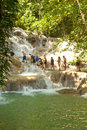 Dunn's River Falls in Ocho Rios, Jamaica Royalty Free Stock Images