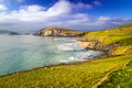 Dunquin bay in co kerry ireland Royalty Free Stock Images