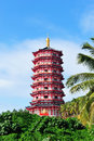 Duobao stupa located in china s hainan Stock Photography