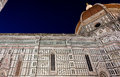 Duomo Basilica di Santa Maria del Fiore Florence Firenze Tuscany Italy night Royalty Free Stock Photo