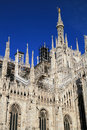 Duomo Cathedral of Milan, Italy Royalty Free Stock Photo