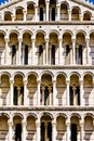 Duomo Cathedral near the leaning tower Pisa Italy Royalty Free Stock Images