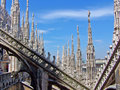 Duomo di Milano Royalty Free Stock Photo