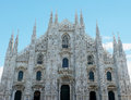 Duomo di Milano Royalty Free Stock Images