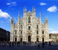 Duomo di Milano, Milan, Italy Royalty Free Stock Photos
