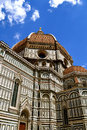 Duomo in florence italy photo of the front of the ornate famous cathedral featuring filippo brunelleschi s revolutionary dome Stock Photos