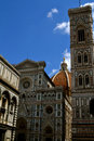 Duomo in florence italy photo of the front of the ornate famous cathedral featuring filippo brunelleschi s revolutionary dome Royalty Free Stock Photography