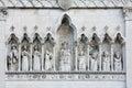 The duomo of Gemona del Friuli Royalty Free Stock Photo