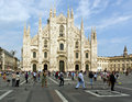 Duomo of milan details from in italy Royalty Free Stock Photography