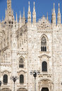 The duomo Milan Italy Royalty Free Stock Photography