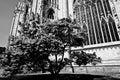 Duomo milan sud east facade prespytery presbytery Royalty Free Stock Photos