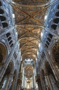Duomo of Parma, interior Stock Photography