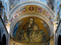 Duomo pisa santa maria di the medieval cathedral of the archdiocese of entitled to santa maria assunta st mary of the Royalty Free Stock Image