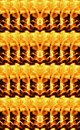 DUPLICATION PATTERN OF A SECTION OF FLAMES Royalty Free Stock Photo