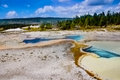 Duplikat pool an yellowstone nationalpark Stockbilder