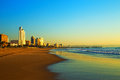 Durban Beach Front South Africa Royalty Free Stock Photo