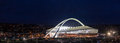 Durban moses mabhida stadium soccer mms south africa Stock Images