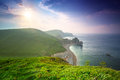 Durdle Door at the beach on the Jurassic Coast of Dorset Royalty Free Stock Photo