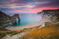 Durdle door in dorset uk on jurassic coast Stock Image