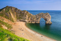 Durdle Door on the Jurassic Coast of Dorset, UK