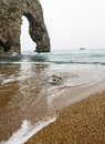 Durdle Door, Lulworth Cove Portrait Royalty Free Stock Photo