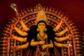 Durga idol Royalty Free Stock Photo