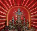 Durga idol Royalty Free Stock Photo