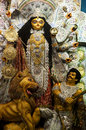 Durga idol of hindu goddess devi Stock Images