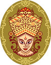 Durga Indian Goddess Stock Image