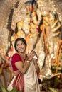 Durga Puja Pandal Royalty Free Stock Photo