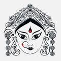 Durga, Saraswati, Lakshmi.