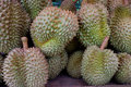 Durian, King of Tropical Fruits in Thailand.