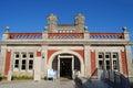 Durlston castle swanage dorset facade of refurbished Royalty Free Stock Photo