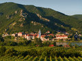Durnstein in Wachau Stock Photo